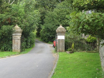 Pollok Castle Entrance